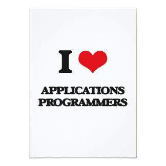 Amo programadores de los usos invitaciones personalizada