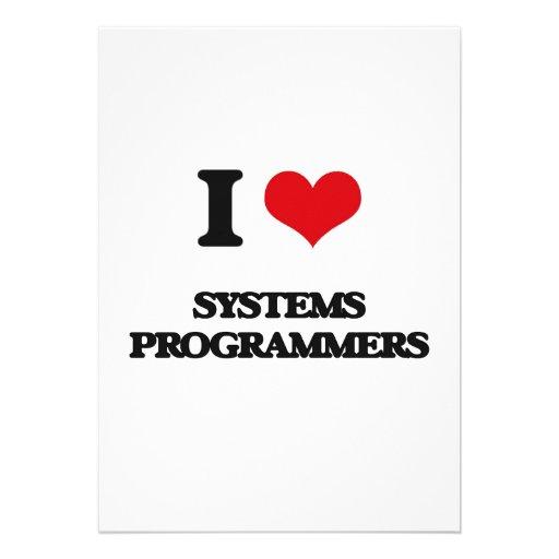 Amo programadores invitación personalizada