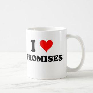 Amo promesas taza de café