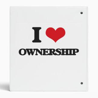 Amo propiedad