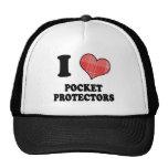 Amo (protectores del bolsillo del corazón de la te gorras
