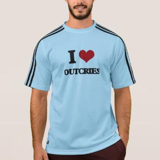 Amo protestas camisetas