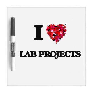 Amo proyectos del laboratorio pizarras blancas