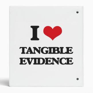 Amo pruebas tangibles