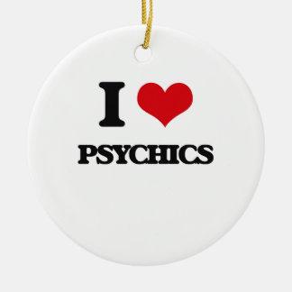 Amo Psychics Adorno Redondo De Cerámica