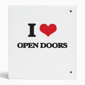 Amo puertas abiertas