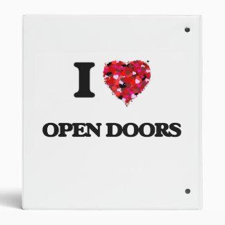 """Amo puertas abiertas carpeta 1"""""""