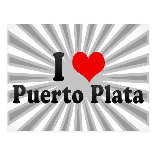 Amo Puerto Plata, República Dominicana Postales