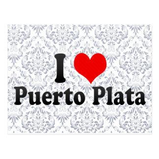 Amo Puerto Plata, República Dominicana Tarjeta Postal