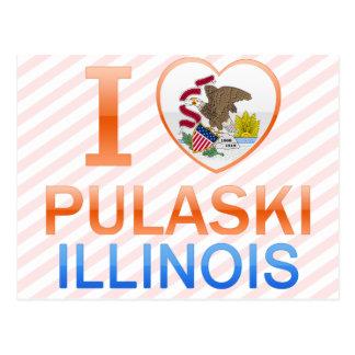Amo Pulaski, IL Tarjeta Postal