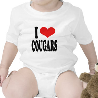 Amo pumas trajes de bebé