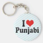 Amo Punjabi Llaveros Personalizados