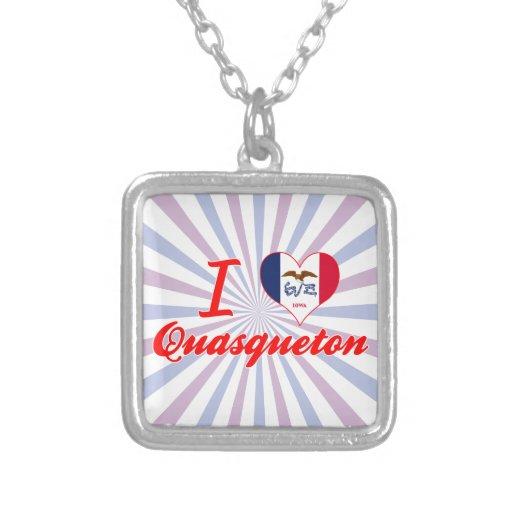 Amo Quasqueton, Iowa Colgante
