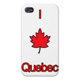 Amo Quebec iPhone 4 Carcasas