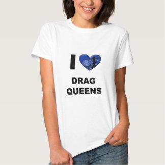 Amo Queens de fricción Camisas