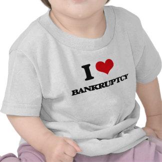Amo quiebra camisetas