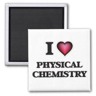 Amo química física imán cuadrado