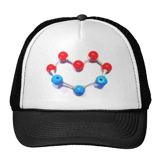 Amo química gorros bordados
