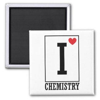 Amo química imán cuadrado