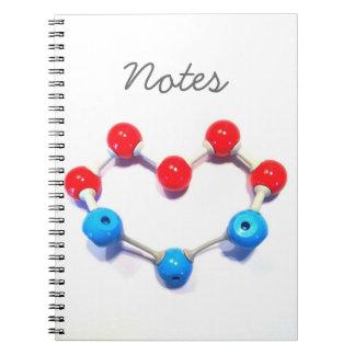 Amo química libretas espirales