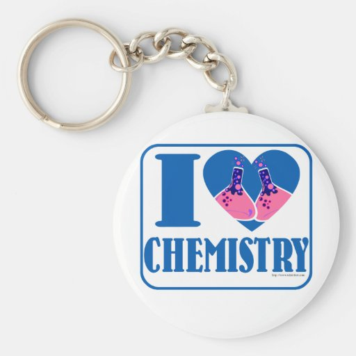 Amo química llavero redondo tipo pin