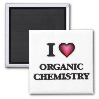 Amo química orgánica imán cuadrado