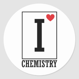 Amo química pegatina