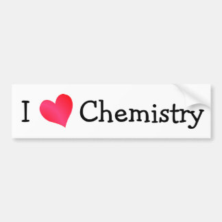 Amo química pegatina de parachoque