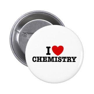 Amo química pin redondo de 2 pulgadas
