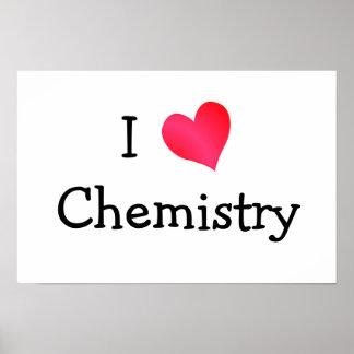 Amo química póster