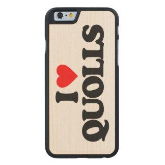 AMO QUOLLS FUNDA DE iPhone 6 CARVED® DE ARCE