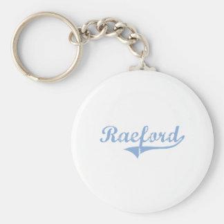 Amo Raeford Carolina del Norte Llavero Redondo Tipo Pin