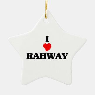 Amo Rahway Adorno De Cerámica En Forma De Estrella