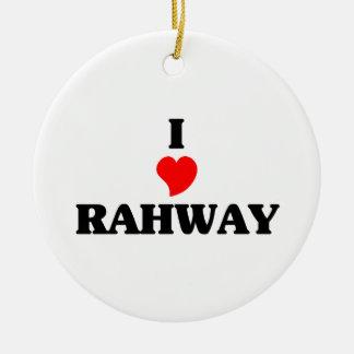 Amo Rahway Adorno Redondo De Cerámica