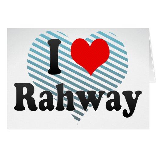 Amo Rahway, Estados Unidos Felicitación