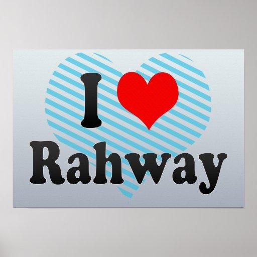 Amo Rahway, Estados Unidos Posters