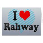 Amo Rahway, Estados Unidos Tarjeta