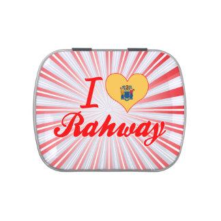 Amo Rahway, New Jersey Jarrones De Dulces