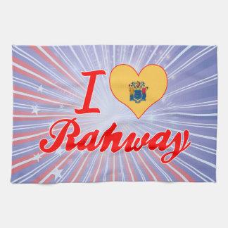 Amo Rahway, New Jersey Toalla De Cocina