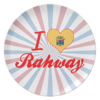 Amo Rahway, New Jersey Plato Para Fiesta
