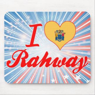 Amo Rahway, New Jersey Alfombrilla De Ratones
