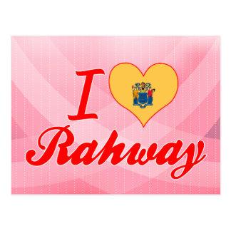 Amo Rahway, New Jersey Tarjetas Postales