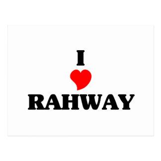 Amo Rahway Tarjeta Postal