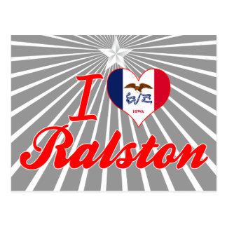 Amo Ralston, Iowa Postal