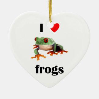 Amo ranas ornamentos para reyes magos