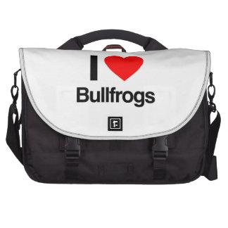 amo ranas mugidoras bolsas para ordenador