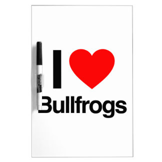 amo ranas mugidoras tablero blanco