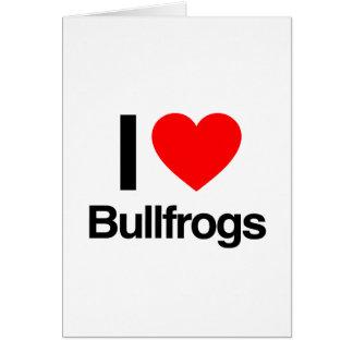 amo ranas mugidoras felicitaciones
