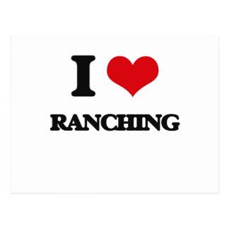 Amo Ranching Tarjetas Postales