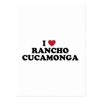 Amo Rancho Cucamonga California Tarjetas Postales